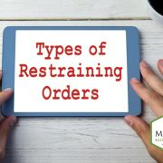 Types Of Restraining Orders Parkwood